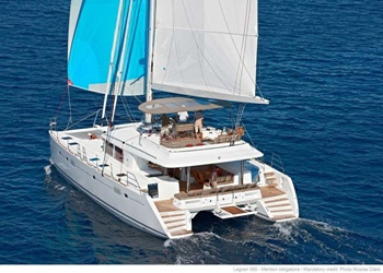 Luxury Catamaran for Rent Lagoon 560