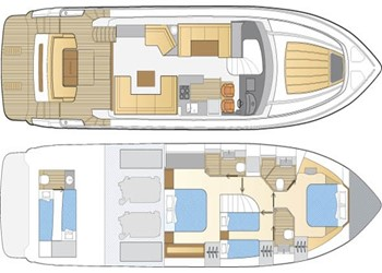 princess_60_8.jpg Yacht Layout
