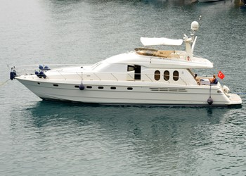 Charter Motorboot Princess 20M