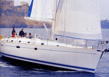 Sailboat for Charter Beneteau 50 (3 cabins)