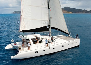Luxury Catamaran Rental Voyage 600
