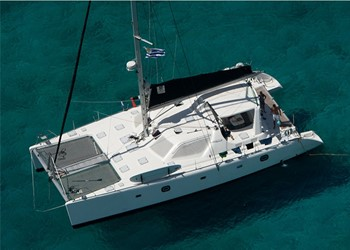 Luxury Catamaran Rental Voyage 580