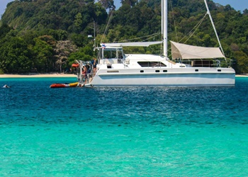 Luxury Catamaran Rental IMP 55