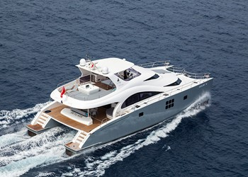 Katamaran charter Sunreef Power 70