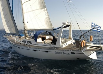 Sailing in Atlantic 61