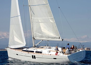 Sailboat for Hire Hanse 495